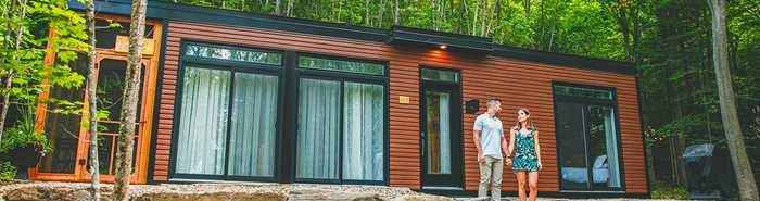 Tiny house from Domaine Natur'Eau
