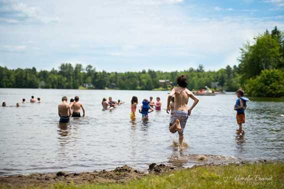 Plage du lac Pierre - Saint-Alphonse-Rodriguez
