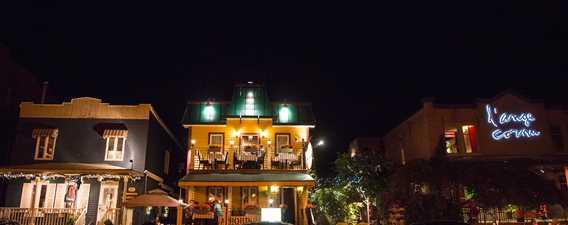 Restaurants in downtown L'Assomption