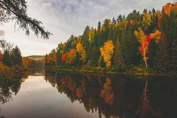 L'automne à Saint-Donat