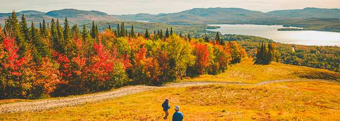 Fall in Saint-Donat