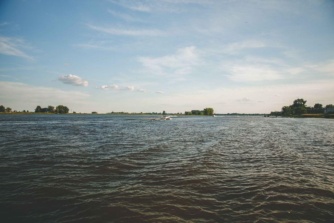 Le fleuve Saint-Laurent à Repentigny