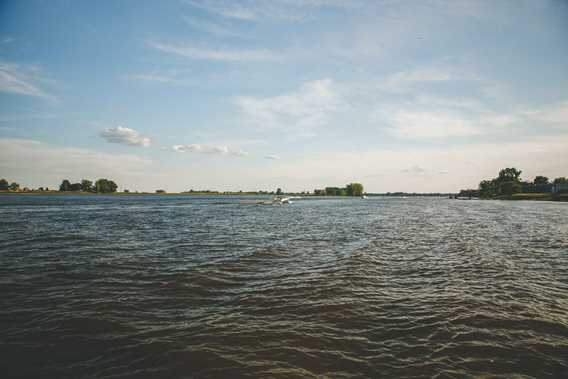 The St. Lawrence River in Repentigny