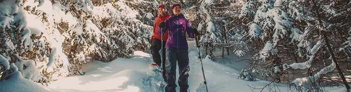 Ski de fond et raquette - Parc national du Mont-Tremblant
