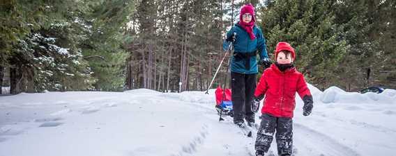 Ski de fond et raquette - Chalets Lanaudière