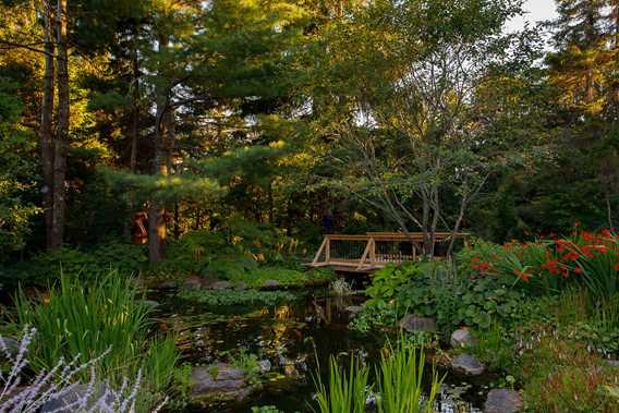 Jardin de la Maison Antoine-Lacombe