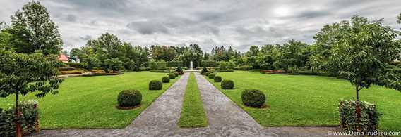 Jardins français de la la Maison Antoine-Lacombe