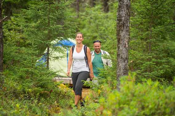 Randonnée pédestre - Parc régional du Lac Taureau