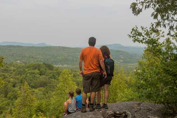 Family Hiking Parc régional de la Forêt Ouareau