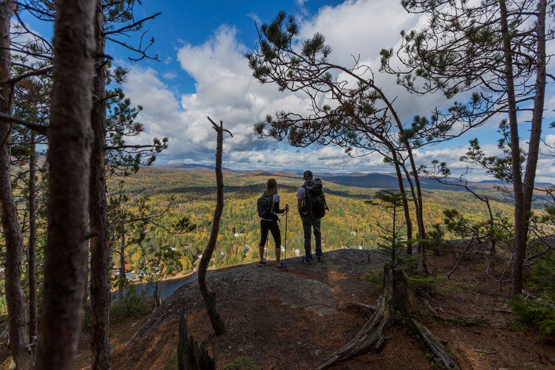 Randonnée Parc régional de la Forêt Ouareau automne
