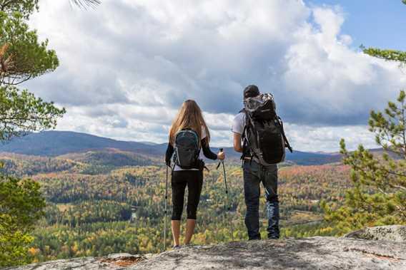 Randonnée d'automne Parc régional de la Forêt Ouareau