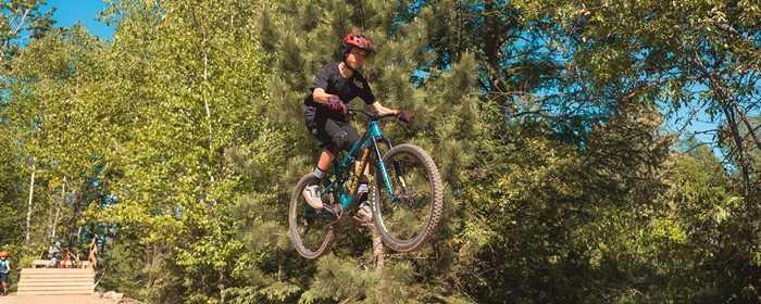 Vélo de montagne Saint-Donat