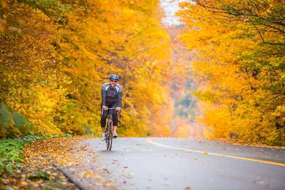 Biking in Saint-Donat