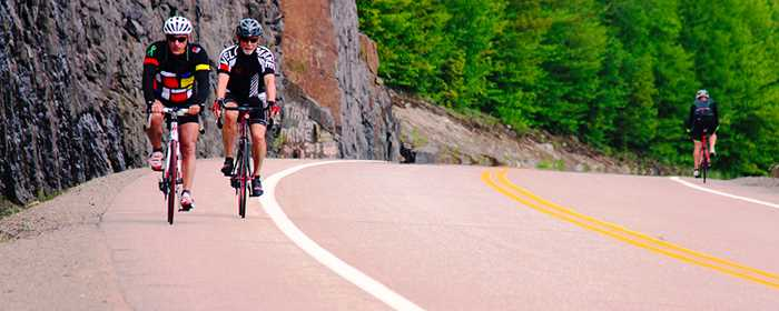 Chemin du Nordet en vélo