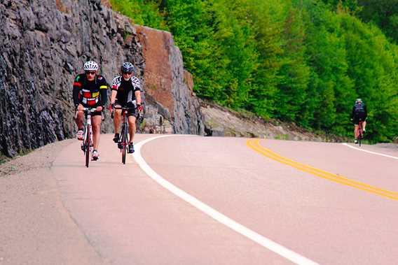 Chemin du Nordet in bike