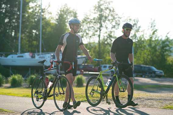 Chemin Hector Bilodeau in bike