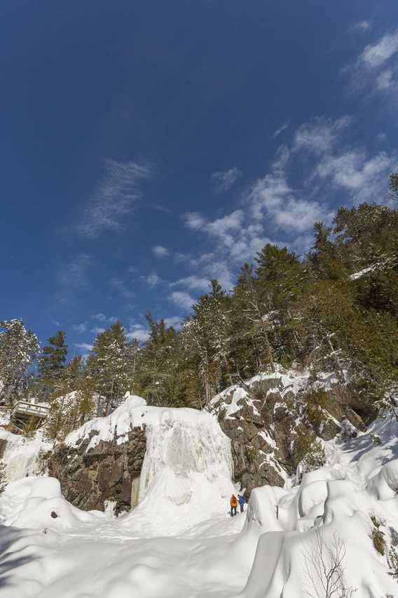 Snowshoeing - Parc régional de la Chute-à-Bull