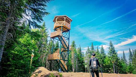 Le Mirador de la Montagne Noire à Saint-Donat