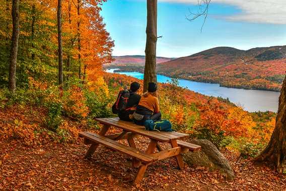 Montagne Noire in fall
