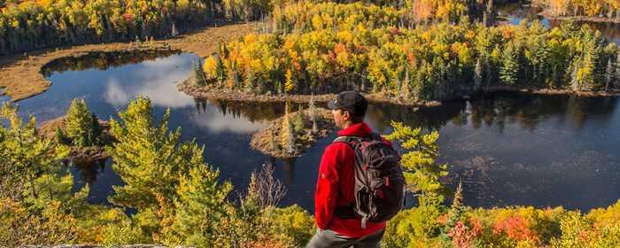Le Mont-Sourire de Saint-Donat en automne