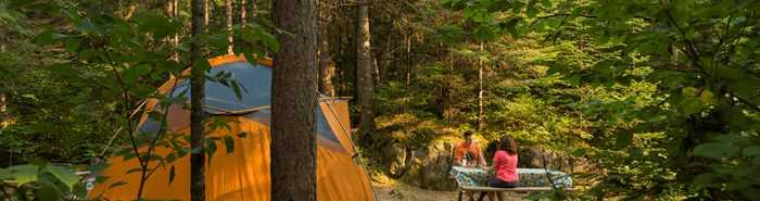 Camping Forêt Ouareau