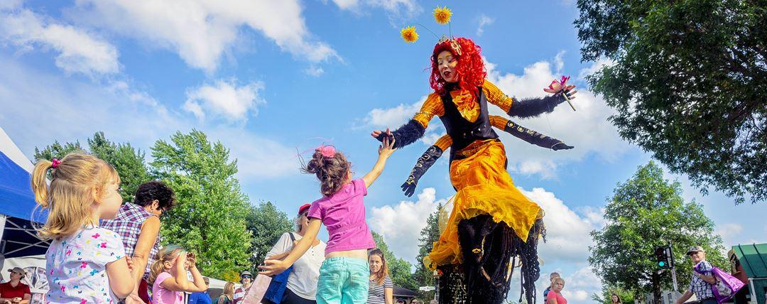 Symphonie des couleurs event in Saint-Donat