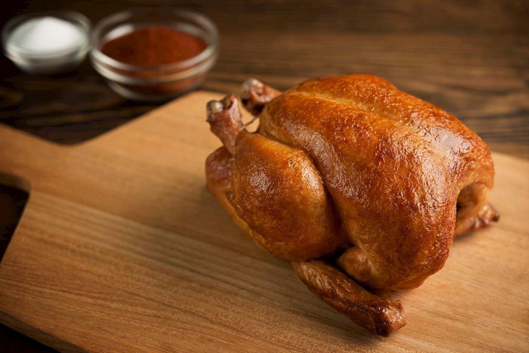 Roast chicken.
