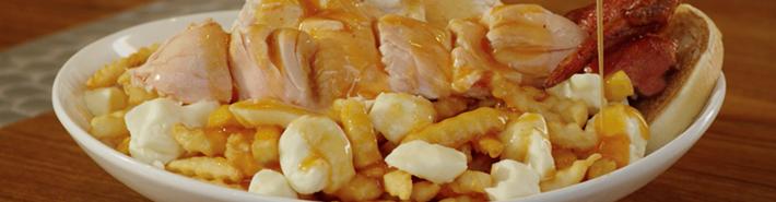 Poutine au poulet du restaurant Benny&Co.