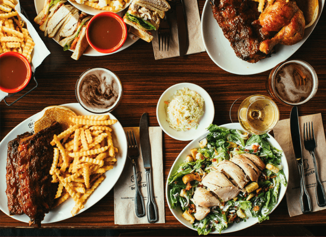 Meals from Benny & Co.