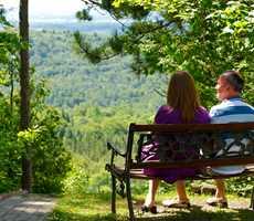 Romantic package at the Auberge de la Montagne Coupée