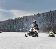 Aberge Lac Taureau location motoneige