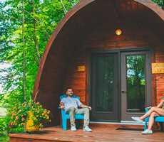 Pod at Domaine Natur'Eau