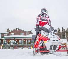 Snowmobile Pourvoirie Domaine Bazinet