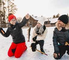 Pêche sur la glace à l'Auberge du Lac Taureau