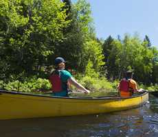 Canoeing at Canot Volant