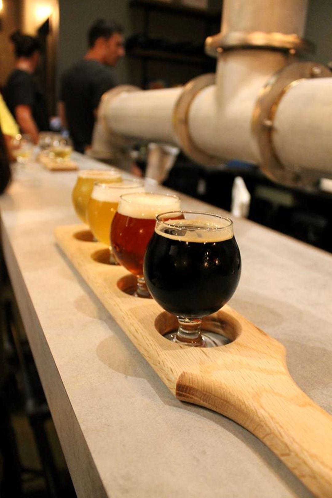 Microbrasserie l'Ours Brun différentes bières