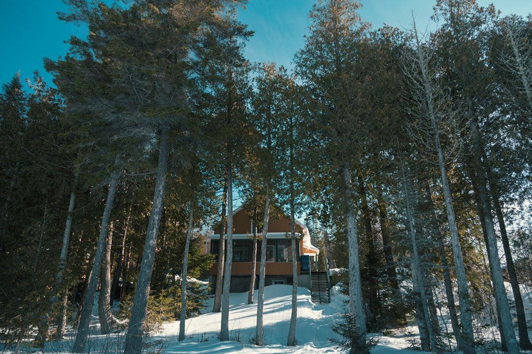 Cottage of Pourvoirie Domaine Bazinet