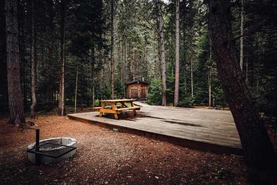 Camping at Gollé Goulu