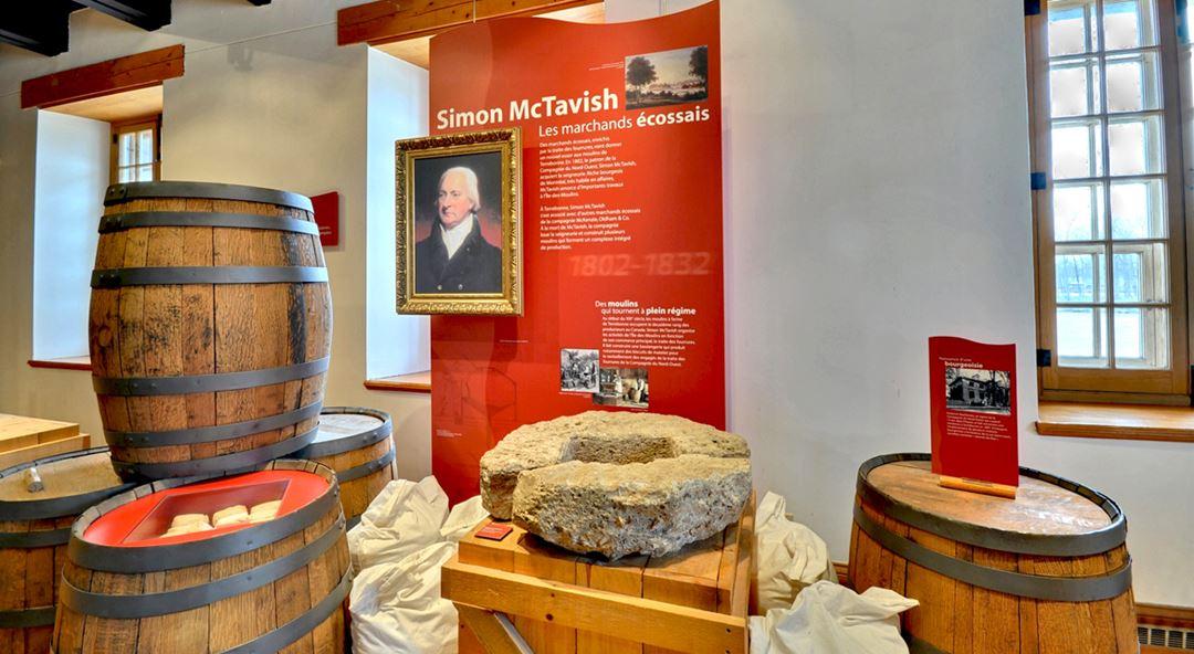 Exposition permanente : Les moulins de Terrebonne, le pouvoir de l'eau à l'Île-des-Moulins