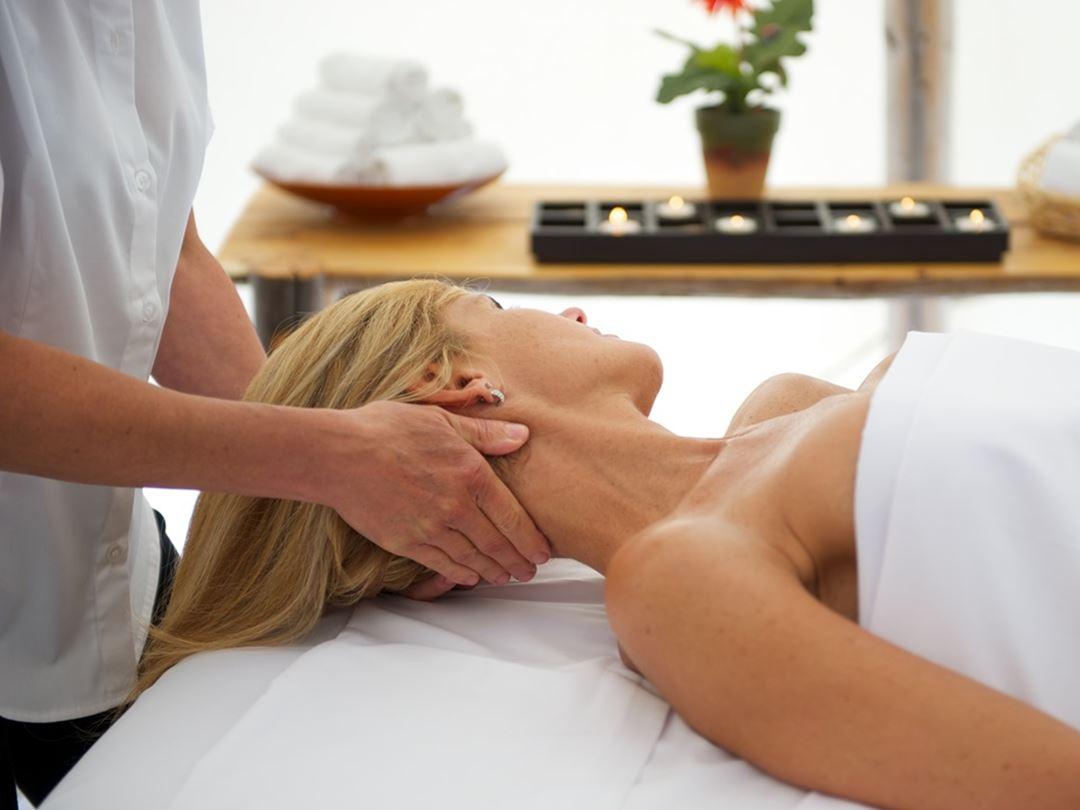 Massage à l'Auberge du Lac Taureau