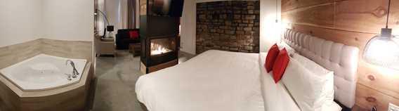 Chambre au Rawdon Golf Resort hôtel