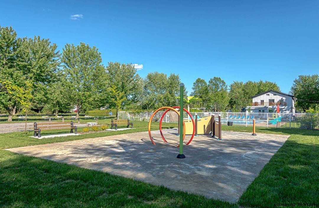 Playground at Camping Horizon
