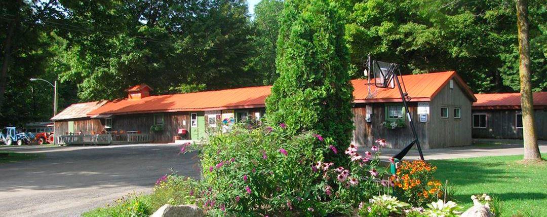Restaurant at Camping Horizon