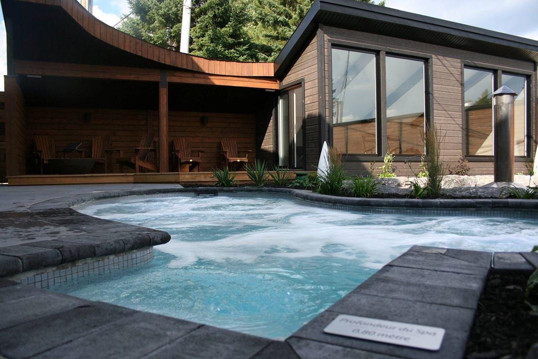 Hôtel-Spa Le Suisse outdoor spa