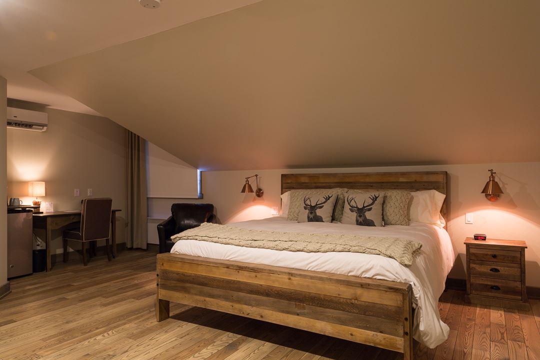 Hôtel-Spa Le Suisse Room La Rustique