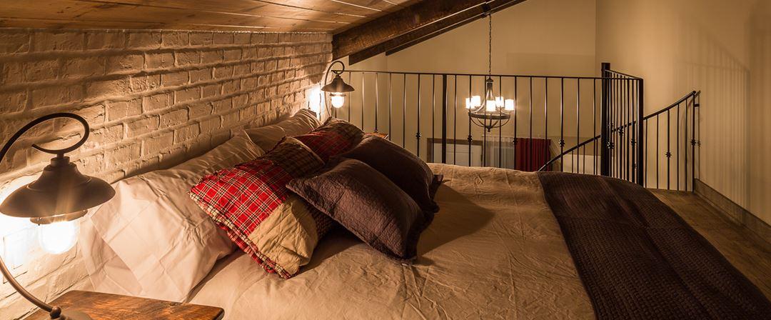 Hôtel-Spa Le Suisse Chalet Le Loft room