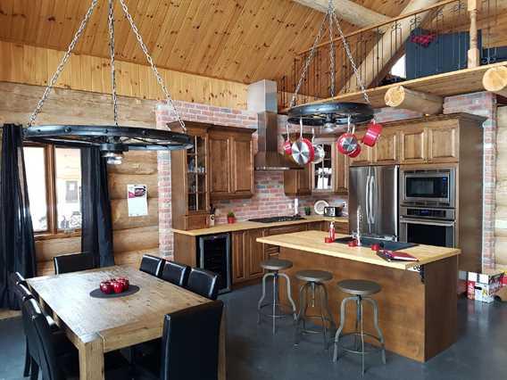 Kitchen at Jadanie chalet