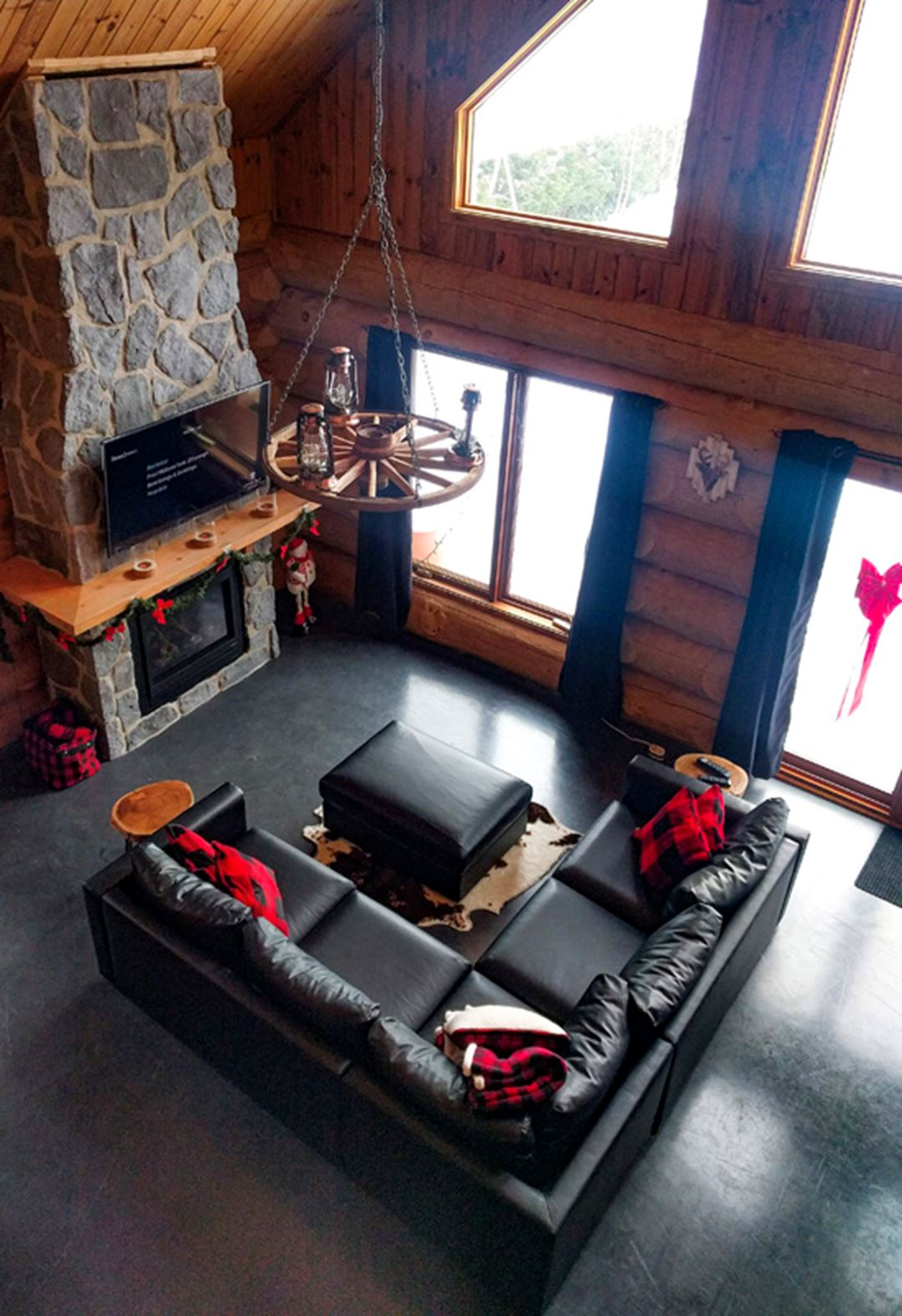 Living room at Jadanie chalet