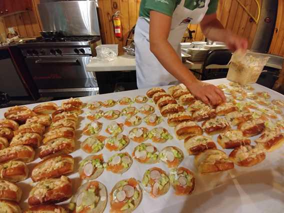 Alexandre Mercure chef à domicile, traiteur et plats pour emporter buffet