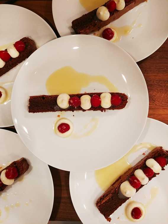 Dessert d'Alexandre Mercure chef à domicile